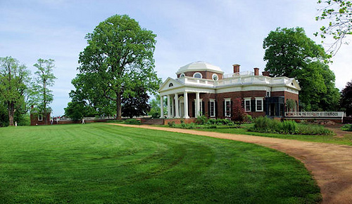 Monticello thomas jefferson s house and lands for Thomas jefferson house monticello