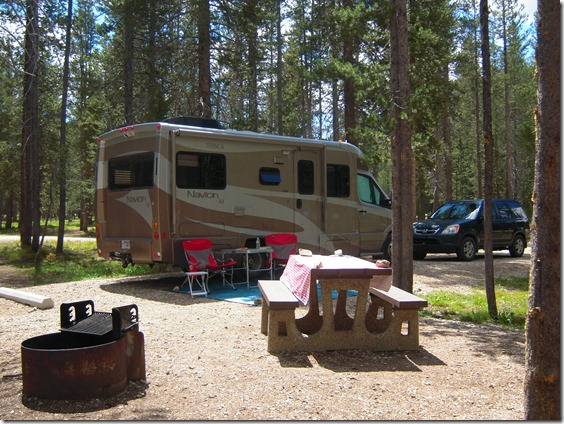 Bull Trout Campground Stanley Idaho