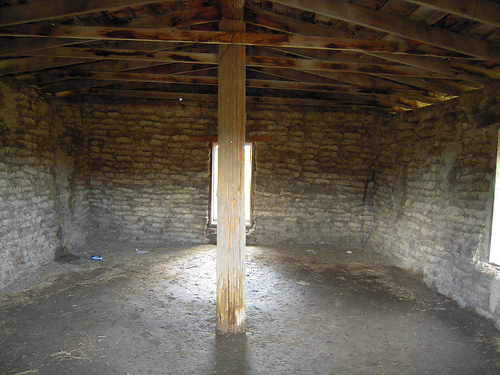 A Nebraska Sod House