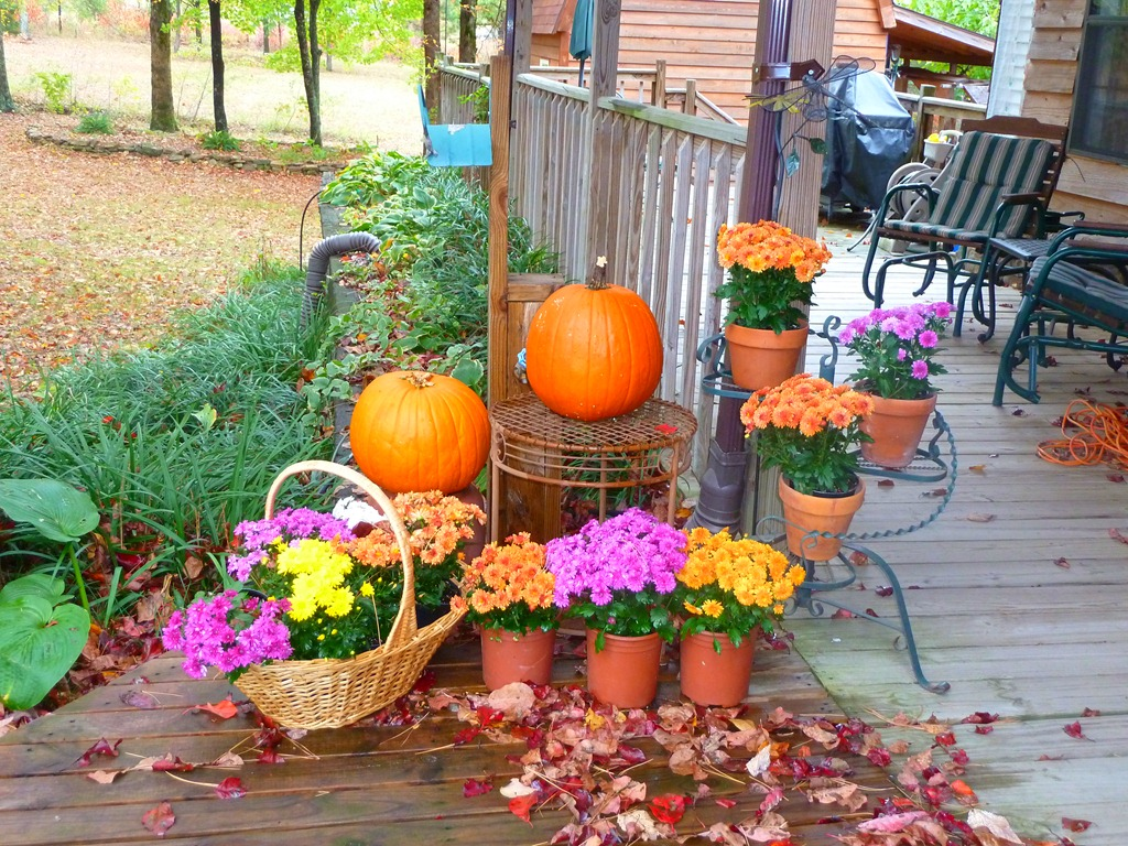 Fall Pumpkins And Quilting