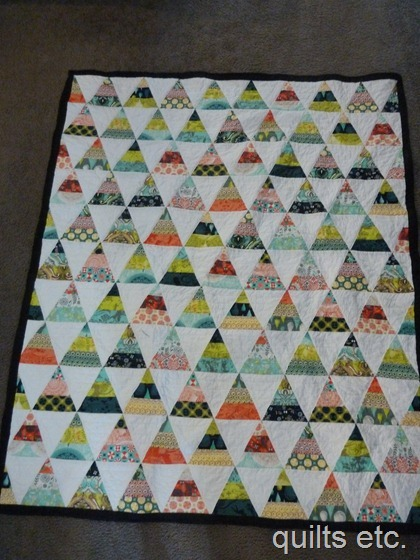 Triangle Quilt Pyramid Quilt