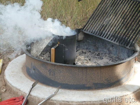 charcoal chimney starter instructions