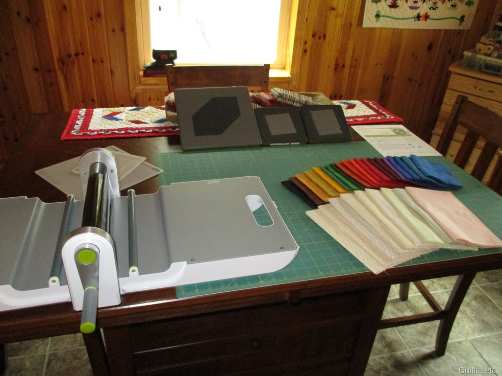 AccuQuilt and Fat Quarters