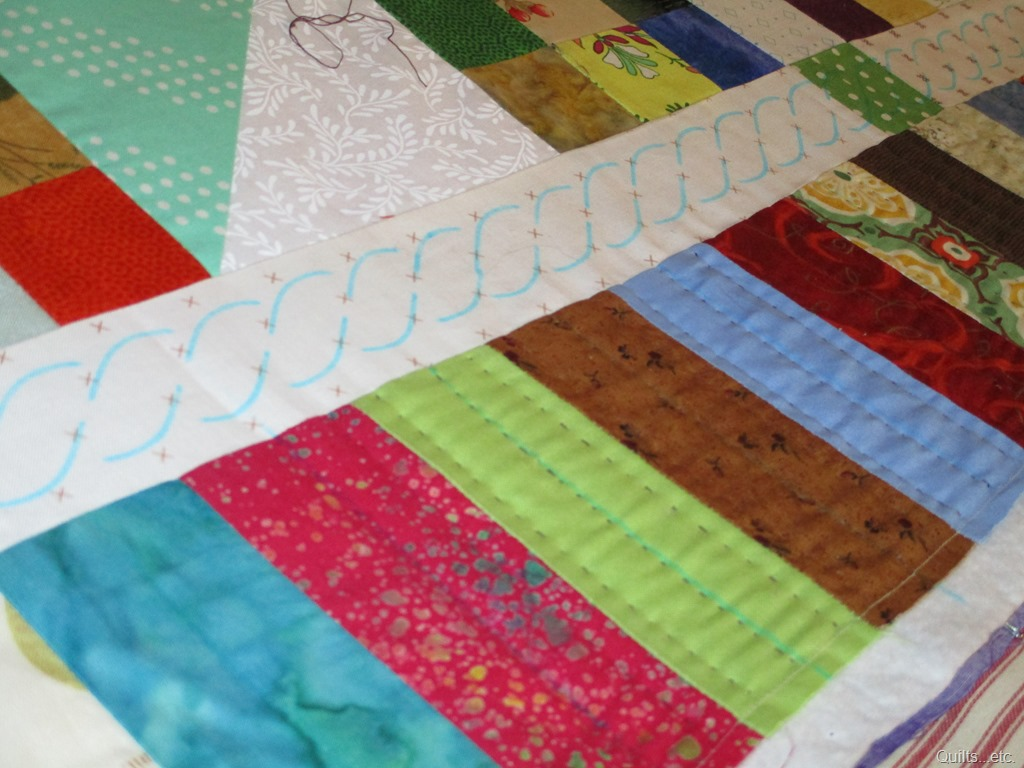 Hand Quilting Started